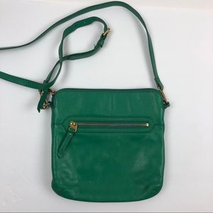 Fossil Small Crossbody Bag Green